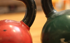 Picture gym, weight, Russian dumbbell
