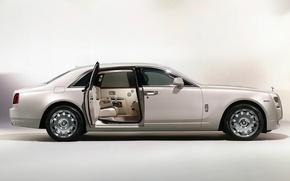 Picture Rolls-Royce, limousine, rolls Royce, door