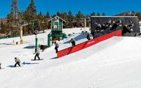 Picture snowboarding, bear mountain, transworld