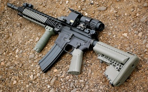 Picture weapons, semi-automatic, assault, rifle, carabiner