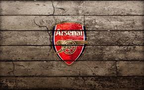 Wallpaper Board, Arsenal, gun, emblem