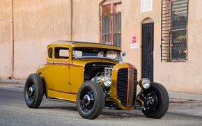 Picture Ford, hot rod, 1931 Ford Five-Window Coupe
