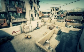 Picture Counter Strike, dust 2