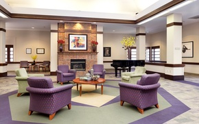 Picture Design, picture, piano, living room, Interior, Living, chair, fireplace, design