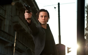 Picture gun, Joseph Gordon-Levitt, Joseph Gordon-Levitt, Time loop, Looper