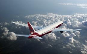 Picture speed, Boeing, Flight, Boeing, The plane, Passenger, B-777