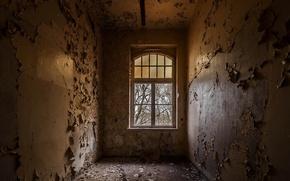 Wallpaper background, room, window