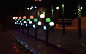 Picture city, light, khorramshahr