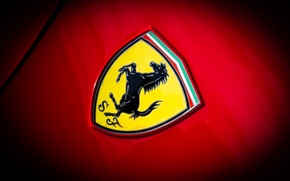 Picture Ferrari, emblem, GTO, 288