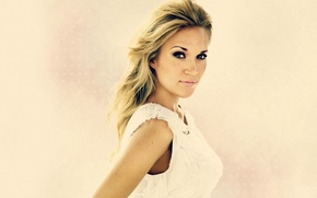 Wallpaper blonde, country, singer, Carrie Underwood, Carrie Underwood