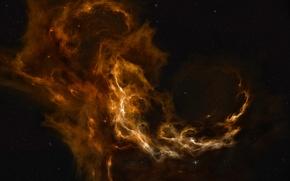 Wallpaper Space, Nebulae, Stars, Cessare, Kassar, Stars