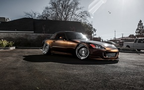 Picture sports car, Honda, Honda, tuning, S2000, frontside