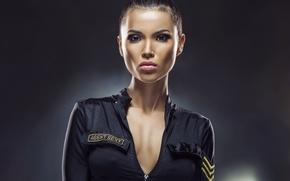 Picture sexy, police, female, uniforn