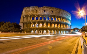 Picture night, The city, Colosseum