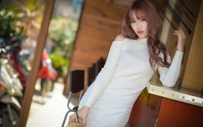 Picture girl, style, Asian