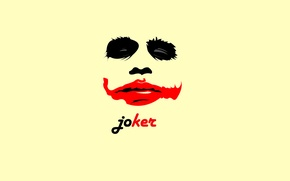 Wallpaper red, Joker, black, background, black, Joker, Wallpaper