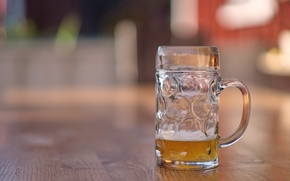 Picture background, glass, beer