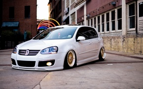 Picture auto, tuning, Volkswagen, volkswagen golf, stance