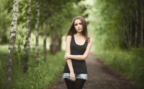 Picture shorts, alley, bokeh, Kseniya Kokoreva