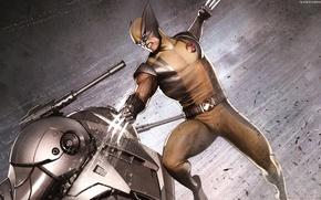 Picture Wolverine, Logan, Wolverine, Marvel, James Howlett, James Howlett