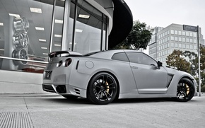Picture Nissan, GT-R, grey