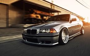 Picture car, machine, BMW, street