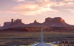 Picture road, landscape, mountains