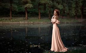Picture dress, Nadia, George Chernyadev, Hope Niyazova
