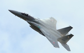 Picture the sky, fighter, Eagle, F-15, generation, McDonnell Douglas, fourth