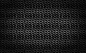 Picture metal, black, cell, grille, texture
