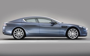 Picture Aston Martin, Rapide, profile, the super-sedan