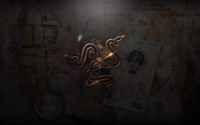 Picture logo, Razer, Steampunk