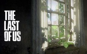 Picture window, knife, curtains, The Last of Us, Some of us