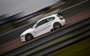 Picture machine, race, sport, BMW 120