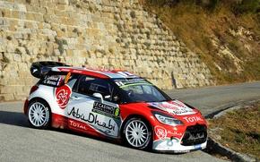 Picture Citroen, DS3, WRC, Rally, Monte Carlo, Stephane Lefebvre