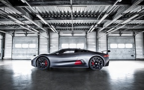 Picture machine, Jaguar, Jaguar, side view, Hybrid, C-X75, Supercar Prototype