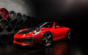 Picture tuning, Porsche, tuning, Carrera, rechange, Cabriolet, Ball Wed, Porsche 991, Stinger