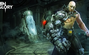 Picture fiction, hand, male, cyborg, laboratory, vain glory, Stormlord Ardan, Vainglory