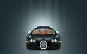 Wallpaper minimalism, vector, Bugatti