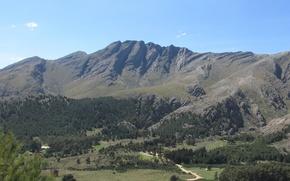 Picture nature, argentina, Mountains, sierra de la ventana