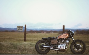 Picture design, motorcycle, bike, Bobber, XV 750