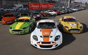Picture Aston martin, tuning, race, supercars, mix