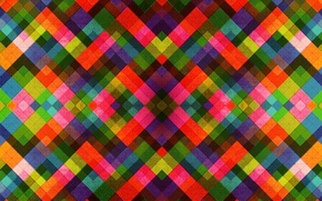 Picture line, pattern, color, rainbow, fabric, square, symmetry