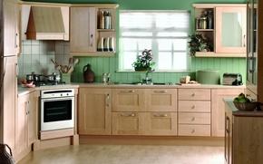 Picture design, house, style, Villa, interior, kitchen