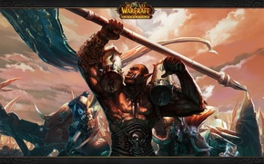 Picture wow, world of warcraft, cataclysm, Horde, Vol'jin, leaders, Sylvanus, Baine, Lor'themar, Horde leaders, Garrosh