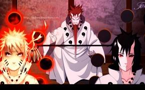 Picture naruto, naruto, Sasuke, sasuke, Itachi, itachi, old man of six paths, the sage of the …
