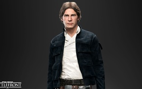 Picture game, Electronic Arts, DICE, Han Solo, Han Solo, star wars battlefront