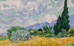 Picture Picture, Landscape, Painting, Van Gogh