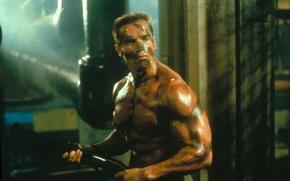 Wallpaper Arnold Schwarzenegger, Commando, Commando, Arnold Schwarzenegger, John Matrix