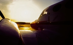 Picture the sky, the plane, C3 Cessna